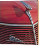 1937 Ford Hood Ornament Wood Print