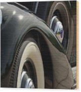 1937 Lincoln K Brunn Abstract Wood Print