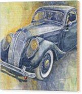 1937 Skoda Popular Sport Monte Carlo Wood Print