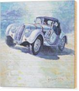 1938 Bmw 328 Roadster Caracciola Gp 2016 Winner Wood Print