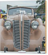1938 Buick 2087 Wood Print