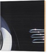 1938 Cadillac Limo with Chrome Strips Wood Print