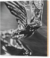 1938 Cadillac V16 Hood Ornament Wood Print
