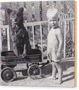 1938 Wood Print