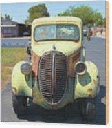 1938 Ford Truck Wood Print