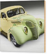 1938 Hot Rod Ford Coupe Wood Print