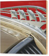 1938 Plymouth Hood Ornament Wood Print
