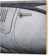 1938 Talbot-lago 150c Ss Figoni And Falaschi Cabriolet Side Door Handle -1511ac Wood Print