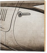 1938 Talbot-lago 150c Ss Figoni And Falaschi Cabriolet Side Door Handle -1511s Wood Print