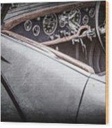 1938 Talbot-lago 150c Ss Figoni And Falaschi Cabriolet Steering Wheel -1561ac Wood Print