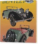 1939 Bentley Drop Head Coupe Wood Print