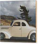 1939 Chevrolet Coupe Wood Print