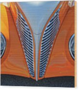 1939 Ford Hot Rod Cvt Grille Wood Print