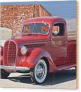 1939 Ford 'stake Bed' Pickup Truck I Wood Print
