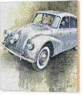 1939 Tatra T87  Wood Print