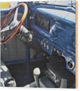 1940 Ford Truck Interior Wood Print