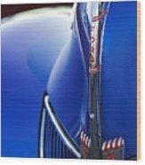 1940 Ford V8 Hood Ornament 3 Wood Print