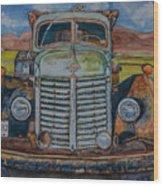 1940 International Harvester Truck Wood Print