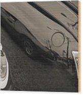 1940 Mercury Convertible Vintage Classic Car Photograph 5218.01 Wood Print
