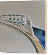 1940 Plymouth Hood Ornament 3 Wood Print