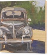 1940 Plymouth Wood Print