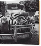 1940's Chevrolet Truck Wood Print