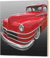 1940s Custom Chrysler New Yorker In Red Wood Print