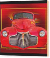 1941 Chevy Custom Wood Print