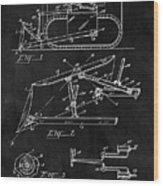 1941 Construction Bulldozer Wood Print