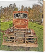 1941 Dodge Truck 3 Wood Print