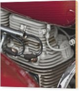 1941 Indian 4 Cyl Motorcycle Wood Print