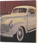 1941 Plymouth - Aunt Clara Wood Print