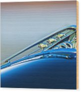 1941 Plymouth Hood Ornament Wood Print