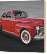 1941 Pontiac Torpedo 8 Coupe Model 29   -   41pontcoupe412 Wood Print