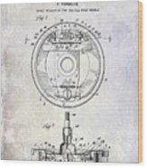 1941 Porsche Brake Mechanism Patent Wood Print