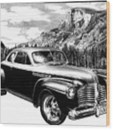 1941 Roadmaster - Half Dome Wood Print