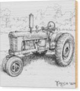 1942 Farmall Wood Print
