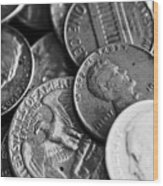 1942-old-coins Wood Print