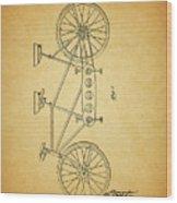 1945 Schwinn Tandem Bicycle Wood Print