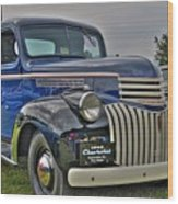 1946 Chevy Wood Print