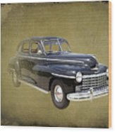 1946 Dodge D24c Sedan Wood Print