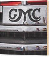 1946 Gmc Truck Grill 2 Wood Print