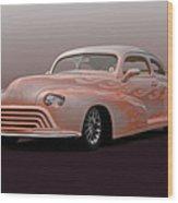 1946 Oldsmobile 'custom' Sedanette 'studio' Wood Print