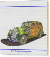 1947 Bentley Shooting Brake Wood Print
