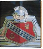 1947 Buick Emblem 2 Wood Print