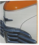 1947 Chevrolet Deluxe Front End Wood Print