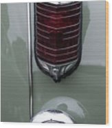 1947 Chrysler Tail Lights Wood Print