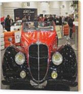 1947 Delahaye 135m Letourner Et Marchand Cabriolet Wood Print