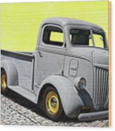 1947 Ford Cab Over Engine Truck Wood Print