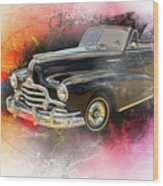 1947 Pontiac Convertible Photograph 5544.08 Wood Print